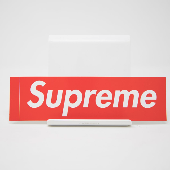 Supreme Red Bogo Sticker
