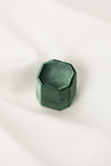 Green Velvet Ring Box