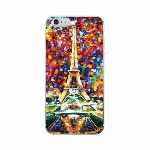 Tour Eiffel cover per iPhone a Samsung