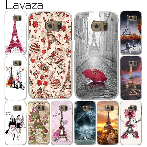 Cover con Tour Eiffel - Parigi Fashion - Lavaza - per Samsung Galaxy A3 A5 A7 A8 J3 J5 J7 2015 2016 2017 Grand Prime 2 Note 4 3