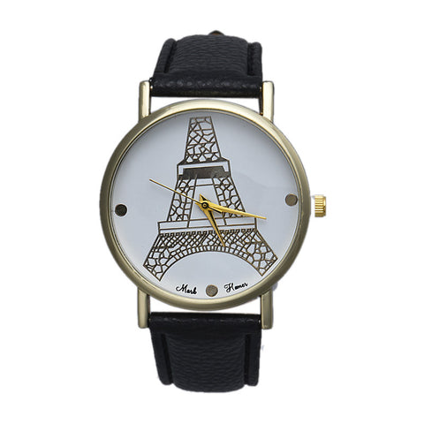 Orologio Tour Eiffel stilizzata - New Retro - Analog Quartz Wrist Watch - 4 colori disponibili