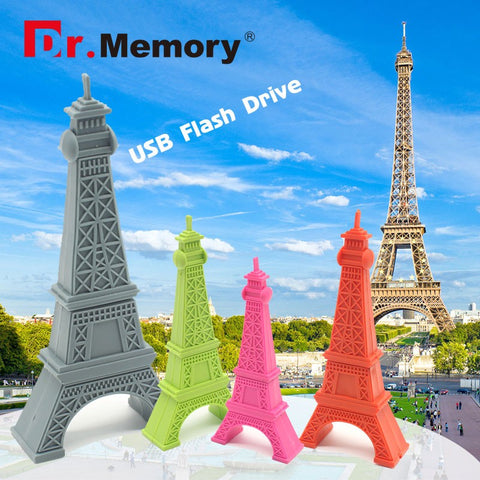 Penna USB flash drive Parigi Tour Eiffel da 4GB 8GB 16GB o 32GB