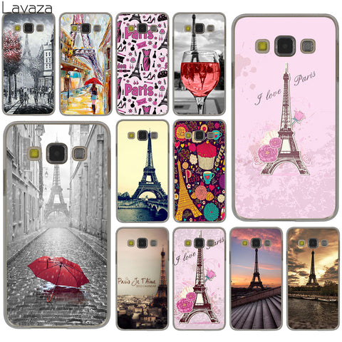 Cover con Tour Eiffel - Parigi Fashion - Lavaza - per Samsung Galaxy S8 Plus S3 S4 S5 & Mini S7 Edge S6 Edge Plus