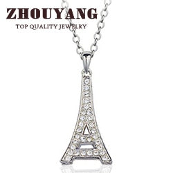 Pendente Top Quality - Torre Eiffel - Eiffel Tower Silver Argento - Fashion
