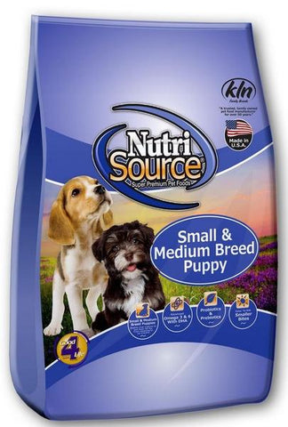 NutriSource® Small and Medium Breed Puppy Chicken and Rice Formula