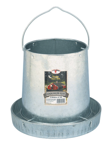Little Giant 12 Pound Hanging Metal Poultry Feeder