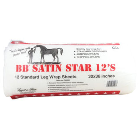 Buffalo Batt Satin Star 12's - Standard Leg Wrap Sheets