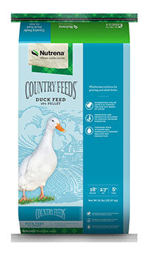 Country Feeds Duck Feed 18% Pellet