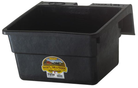 Little Giant 18 Quart Rubber Hook Over Feeder