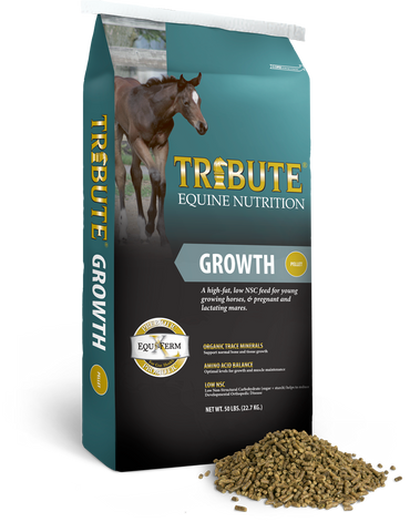 Growth Pelleted™ Horse Feed
