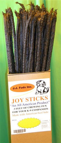 J.J. Fuds Beef Hide Joy Sticks
