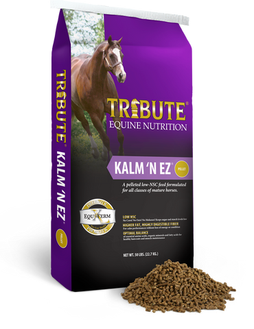 Kalm 'N EZ® Pelleted Horse Feed