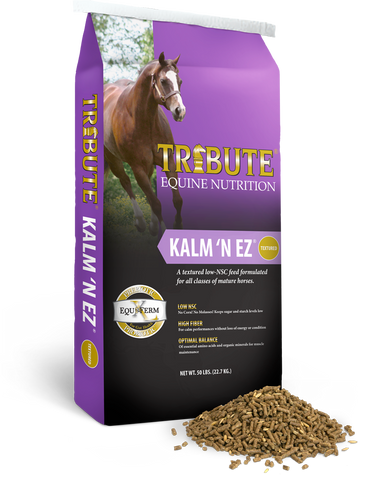 Kalm 'N' EZ® Textured Horse Feed