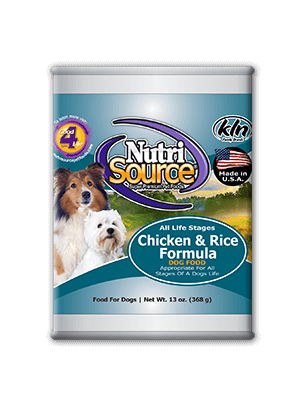 All Life Stages Chicken and Rice Canned Dog Food