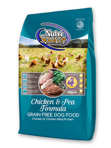NutriSource® Chicken & Pea Formula Grain Free Dog Food