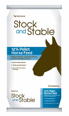 Stock and Stable 12% Pellet Horse Feed