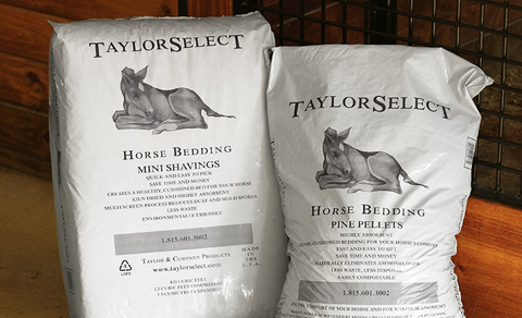 TaylorSelect Horse Bedding Pine Pellets