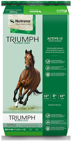 Triumph® Active 12 Textured Horse Feed