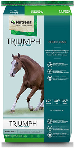 Triumph® Fiber Plus Horse Feed