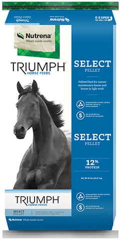 Triumph® Select Pellet Horse Feed