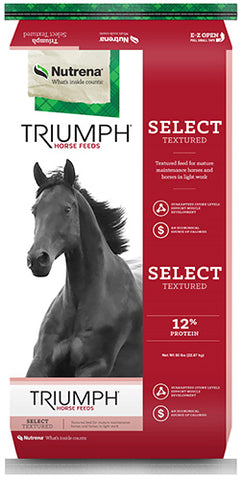 Triumph® Select Textured Horse Feed