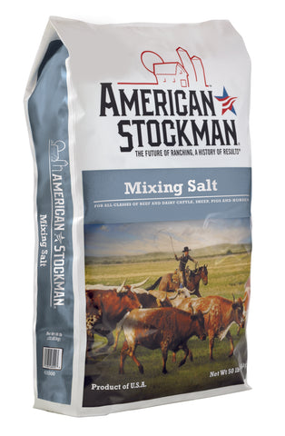 American Stockman® Treated Mixing Salt