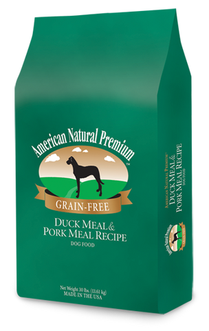 American Natural Premium Grain-Free Duck & Pork Recipe Dog Food