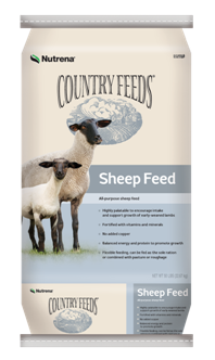 Country Feeds 16% Pelleted Sheep Feed - Medicated