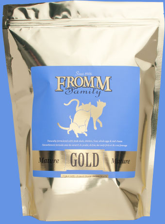 Mature Gold Food for Cats