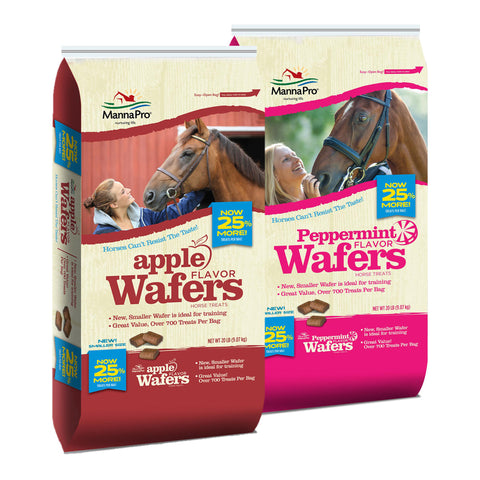 Apple Wafers Horse Treats