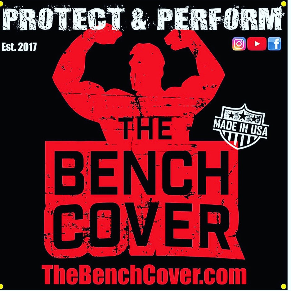 The Bench Cover Gym Banner 3ft x 3ft