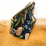Travel Pouch - all cloth fabric - Elongated