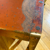 Red Desk/Small Table