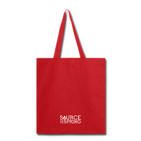 I Heart Silver Spring Tote Bag - red