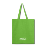 I Heart Silver Spring Tote Bag - lime green