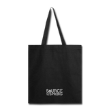 Silver Spring Fountain Tote Bag - black