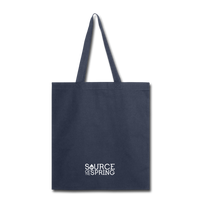 Silver Spring Fountain Tote Bag - navy