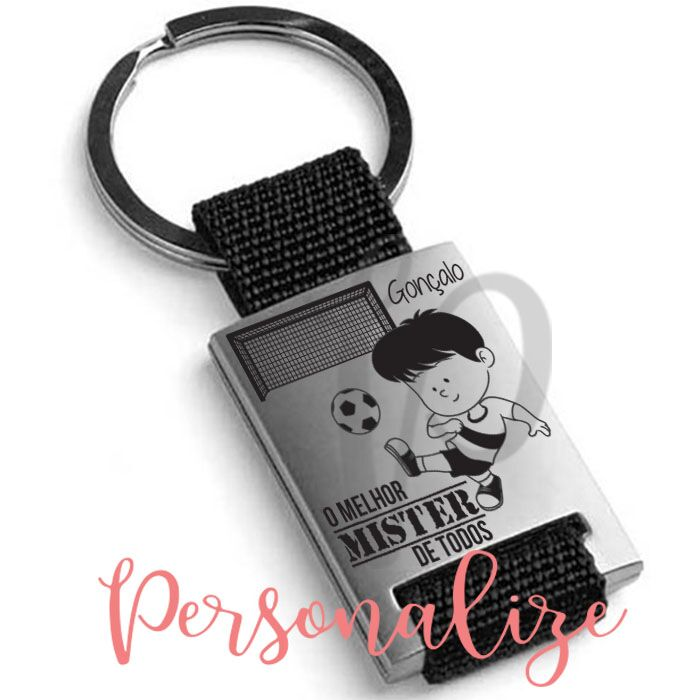 "Porta chaves "" Mister"" Personalize"