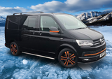 VW Transporter Carbon Fiber  Coloured Streamer