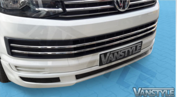 VW Transporter T6 Basic Front Splitter