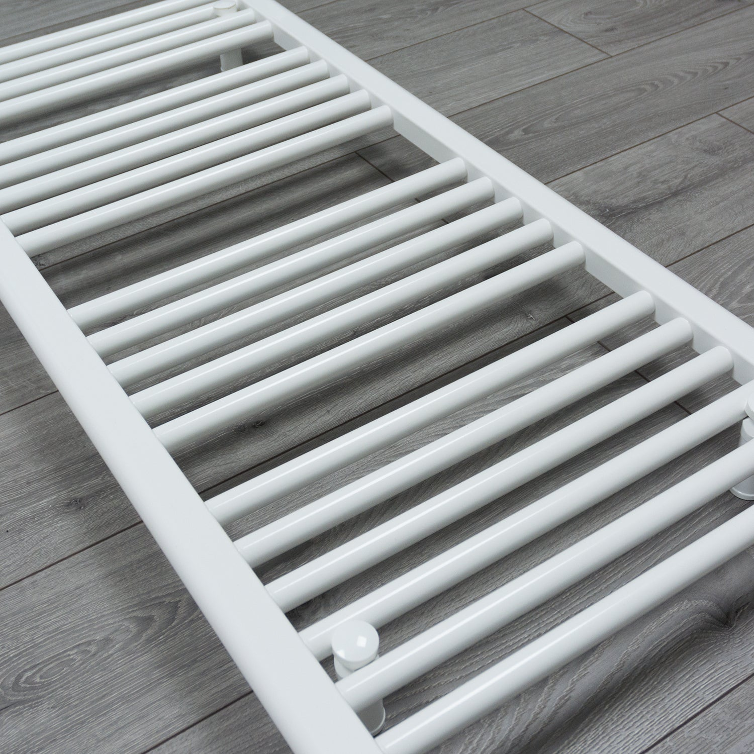 700mm Wide 800mm High Flat White Heated Towel Rail Radiator HTR
