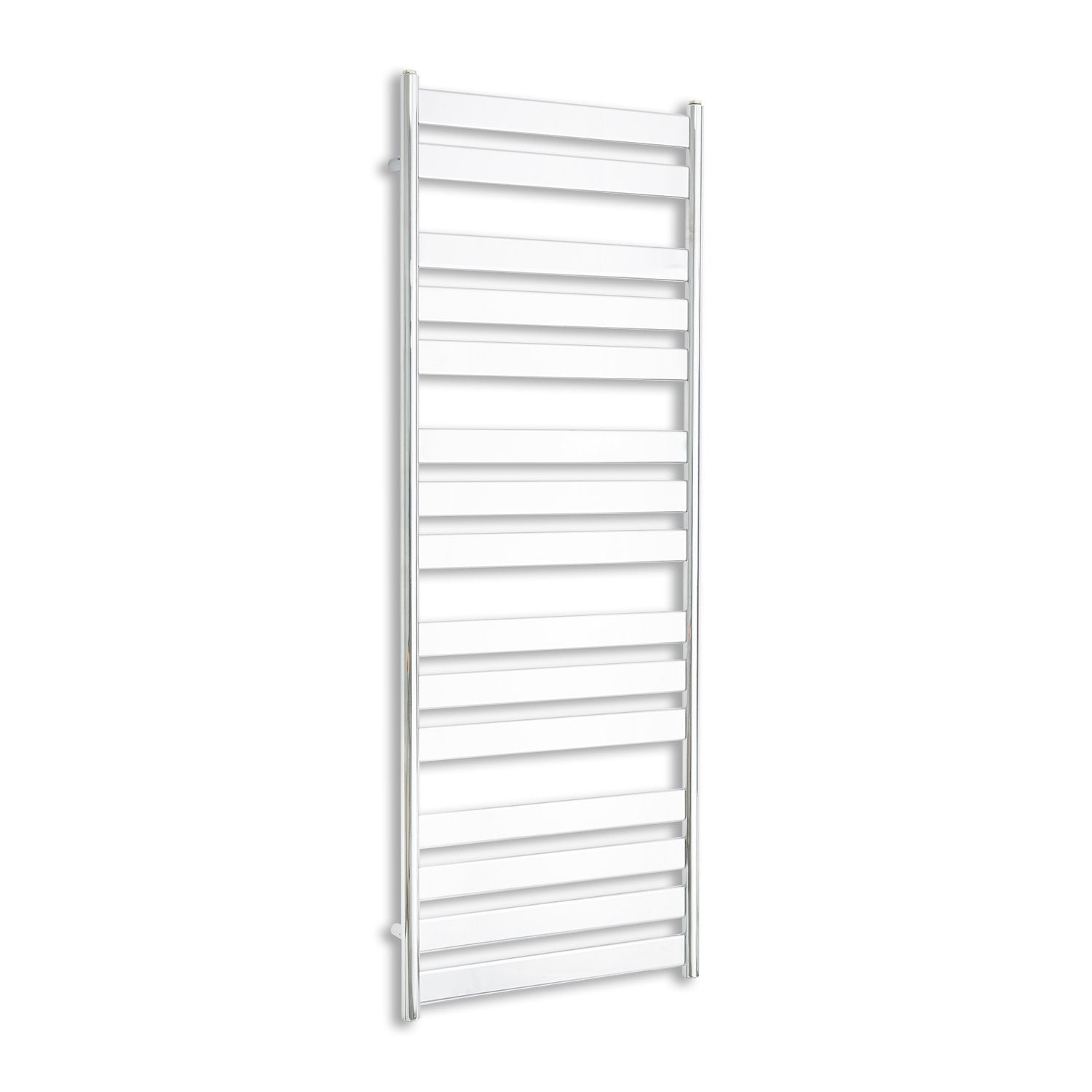 600mm Wide 1600mm High Heated Flat Panel Design Towel Rail Radiator Chrome for Central Heating,Towel Rail Only