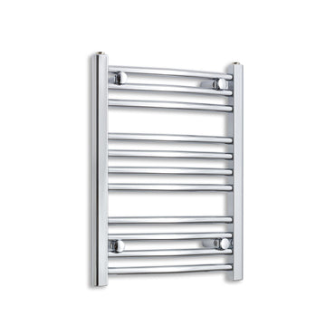 500mm Wide 600mm High Flat Chrome Heated Towel Rail Radiator HTR,Towel Rail Only