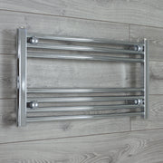 600mm Wide 400mm High Curved Chrome Heated Towel Rail Radiator HTR,Towel Rail Only