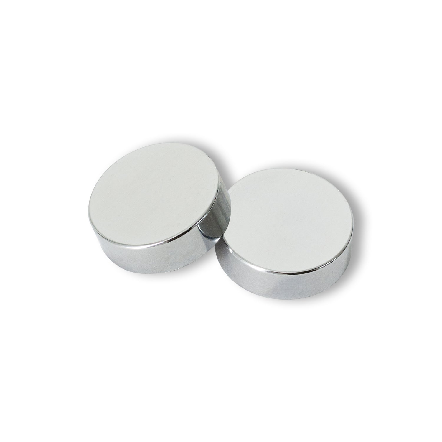 Chrome Cover Caps and Plugs for Heated Towel Rail Radiators