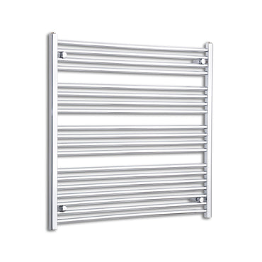 1000mm Wide 1000mm High Flat Chrome Heated Towel Rail Radiator HTR,Towel Rail Only