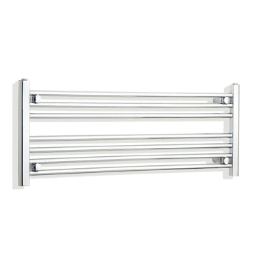 1000mm Wide 400mm High Flat Chrome Heated Towel Rail Radiator HTR,Towel Rail Only