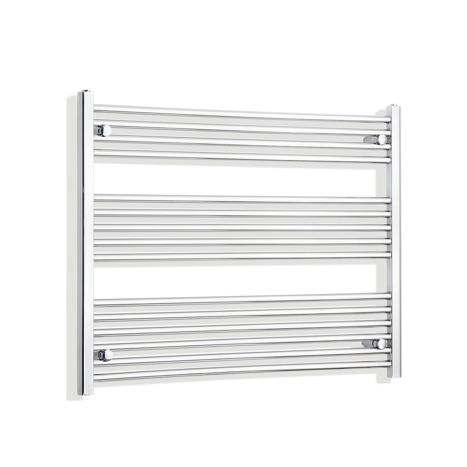 950mm Wide 800mm High Flat Chrome Heated Towel Rail Radiator HTR,Towel Rail Only