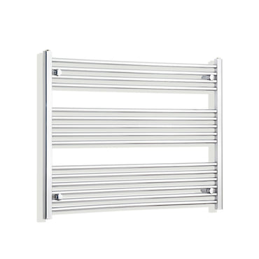1000mm Wide 800mm High Flat Chrome Heated Towel Rail Radiator HTR,Towel Rail Only