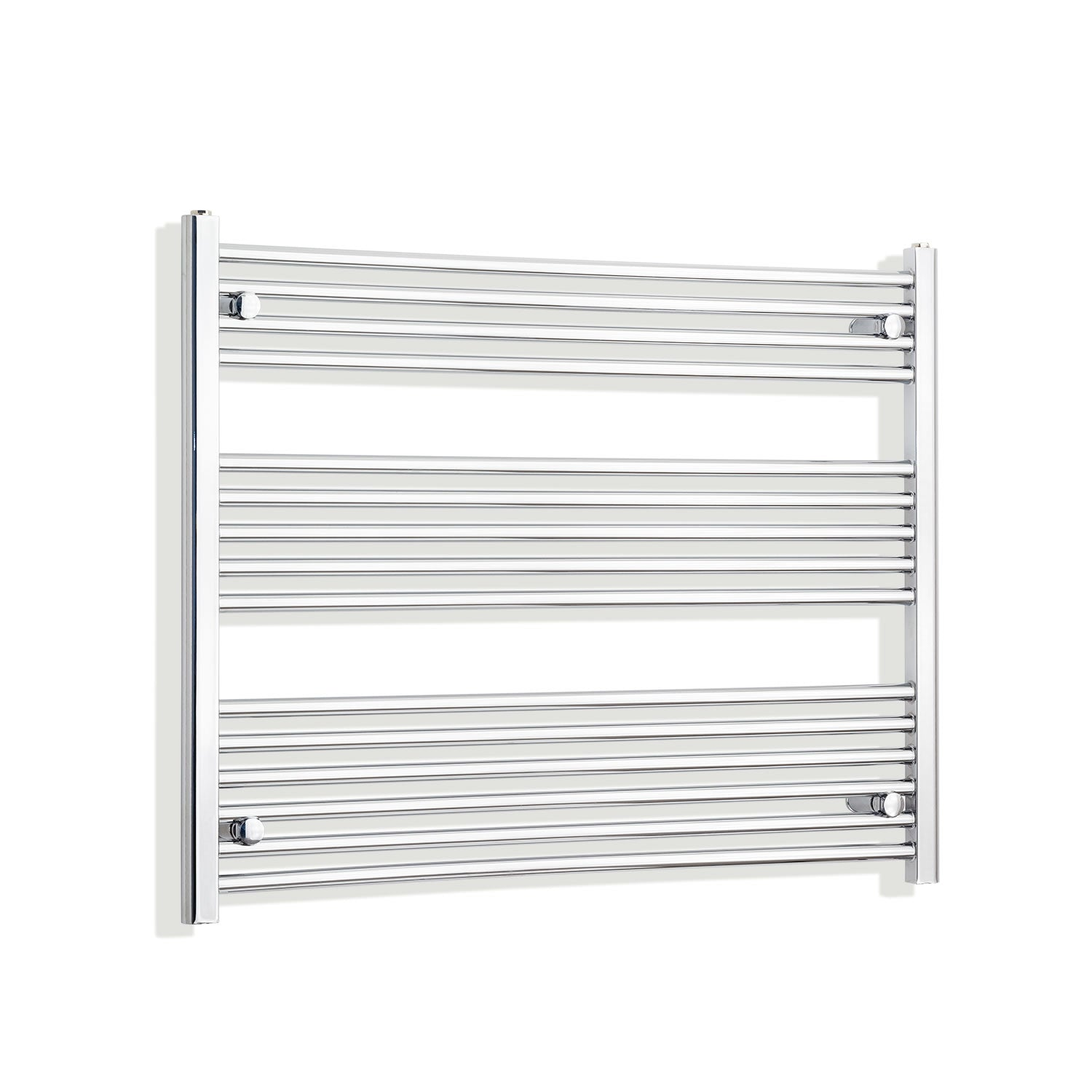 1200mm Wide 800mm High Flat Chrome Heated Towel Rail Radiator HTR,Towel Rail Only
